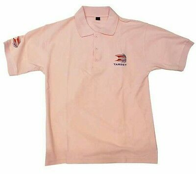 New Target pink polo shirt large