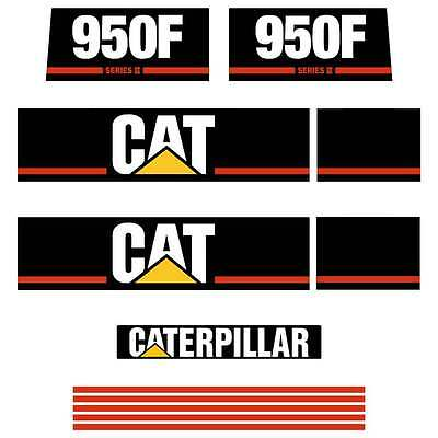 Cat 950F Series 2, 950F S2, Decals Stickers Repro Kit