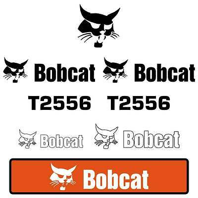 Bobcat T2556 Decals Stickers Repro Decal Kit Telehandler Or Bobcat T2566