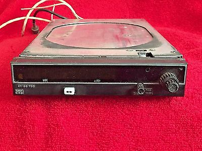 King Ky 196 Vhf Comm Transceiver P/n 064-1019-00 28 Volt With Tray And Connector