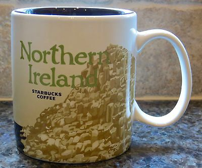 NWT Starbucks NORTHERN IRELAND UK Global Icon City Collector Series Mug with SKU
