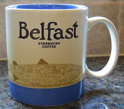 NWT Starbucks BELFAST Northern Ireland UK Global Icon City Collector Series Mug