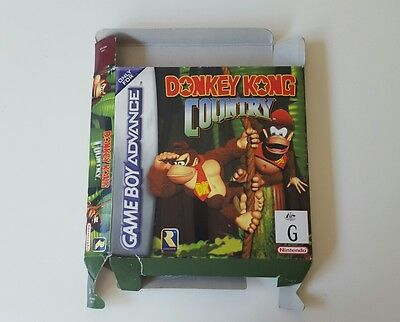 Nintendo Donkey Kong Country Gameboy Advance BOX ONLY