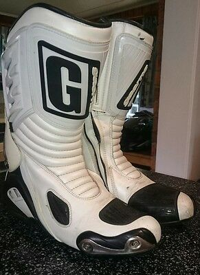 gaerne motorcycle boots size 9