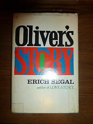 FIRST EDITION Oliver's Story Signed by the Author