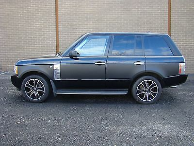 2008 Land Rover Range Rover HSE 2008 land range rover hse supercharged strut overfinch chrome low mileage WARNTY