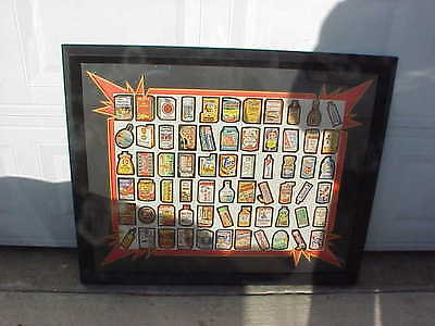 wacky packages collection newly matted framed 3ftx2.5ft Worth $300 UPS shipping