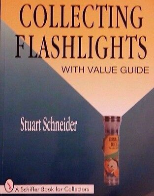 Antique Flashlight Price Guide Collector's Book Winchester Military Franco ++