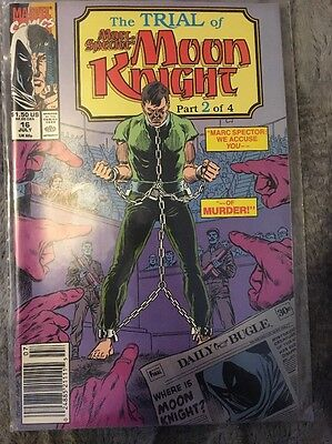 Marc Spector Moon Knight #16 1989 Marvel Comics.