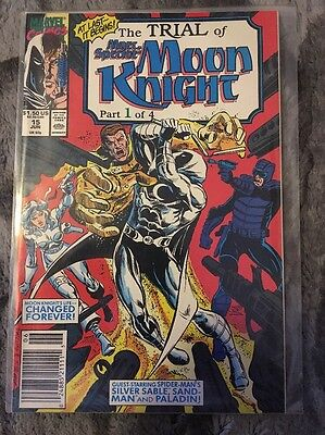 Marc Spector Moon Knight #15 1989 Marvel Comics.