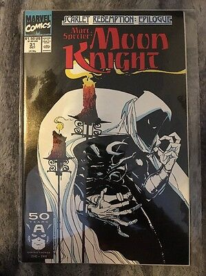 Marc Spector Moon Knight #31 1989 Series Marvel Comics.