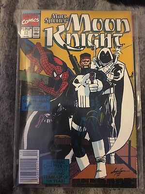 Marc Spector Moon Knight #19, 20, 21 1989 Marvel Comics. Spider-Man Punisher