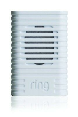 Ring Wi-Fi Enabled Chime Home Doorbell Plug In Loud Wireless Cordless White