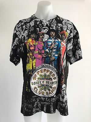 Vintage BEATLES Sgt PEPPERS LONELY HEARTS CLUB BAND T SHIRT Hanes WINTERLAND Lg