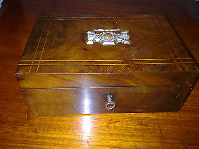 wooden box, jewellery box, antique or vintage