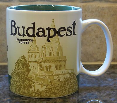 NWT Starbucks BUDAPEST Hungary Global Icon City Collector Series Mug with SKU