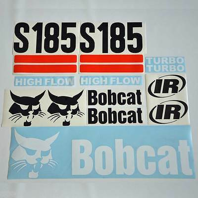 S185 Decals S185 Stickers Bobcat Skid Steer LOADER DECAL SET (2S)