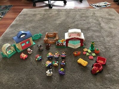 Fisher-Price Little People Bulk X 2 Sets - Farm And Home