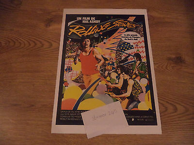ROLLING STONES LETS SPEND THE NIGHT TOGETHER FRENCH  POSTER  1982  PRINT No 2