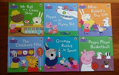 Peppa Pig Book Bag Collection - 6 new Paperback Books
