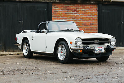 Triumph TR6, 1974, Only 71,000 Miles, 2 Owners, Very Genuine California Car