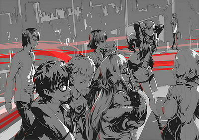 "YX02047 Persona 5 - Hot Video Game 19""x14"" Poster"