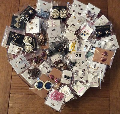 Job Lot (50pairs) New Jewellery Earrings (Vintage Style) Gifts/Resale/Fetes