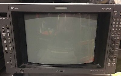 """Sony BVM A14F5M Broadcast 14"""" monitor with HD SDI - 62HS"""