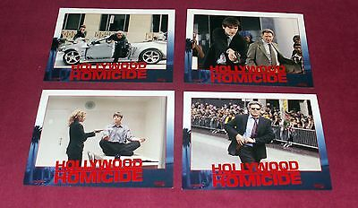 HOLLYWOOD HOMICIDE (2003) Columbia Pictures 4 lobby cards set, Harrison Ford