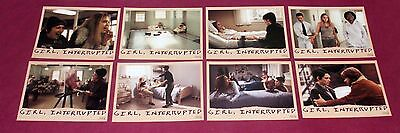 GIRL, INTERRUPTED (1999) Columbia Pictures, 8 lobby cards set, Angelina Jolie