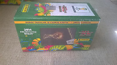 Panini adrenalyn xl fifa world cup 2014 Brazil Gift Box with Trophy xl limited