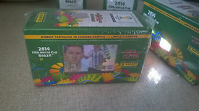 Panini adrenalyn xl fifa world cup 2014 Brazil Gift Box with Messi xl limited