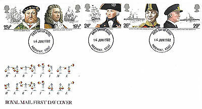 16/6/82 Maritime Heritage Fdc