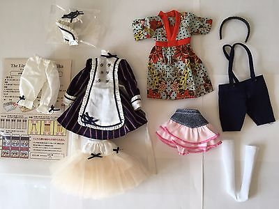 AZONE Pure Neemo Clothes LOT #7 Japanese 1/6 fashion doll Ruruko Blythe Obitsu
