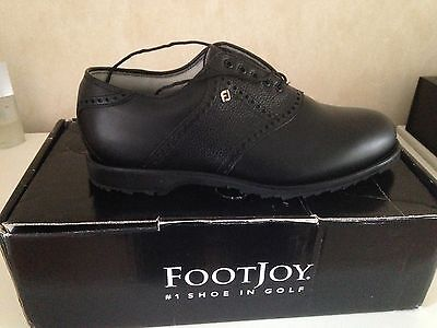 **New**Footjoy Spikeless Classic Dry Premier Golf Shoes UK Size 7.5 Model 51464
