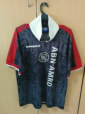 Classic football jersey Ajax Amsterdam Umbro Size L for Sale