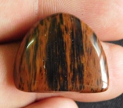 19.65 Cts. 100 % NATURAL  RED SNOWFLACK OBSIDIAN CABOCHON GEMSTONE