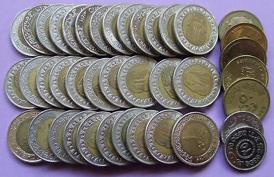 Egypt selection of 40 coins..............J 149