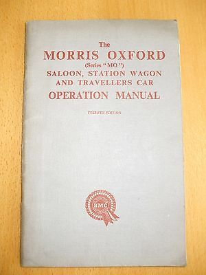Morris Oxford Series MO ORIGINAL handbook