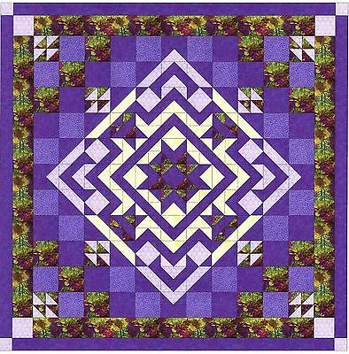 Easy Quilt Kit/Autumn Migration/Pre-cut Fabrics Ready To Sew/Queen