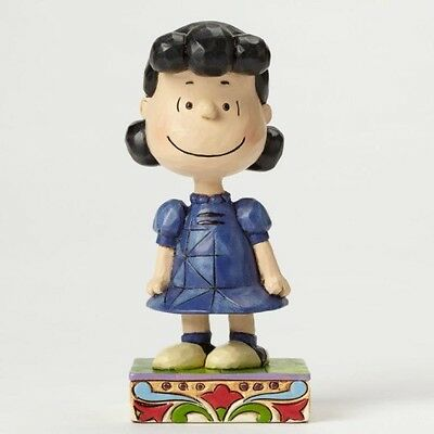 Jim Shore  serie Charlie Brown e Peanuts Lucy Little Miss Fussbadget resina