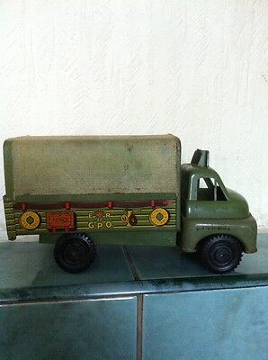 very rare and collectable  Wells Brimtoy  Bedford S-type Gpo Truck