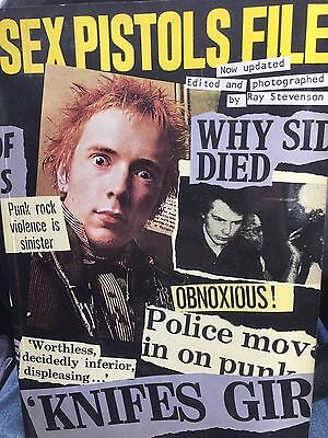 Sex Pistols File Paperback Book