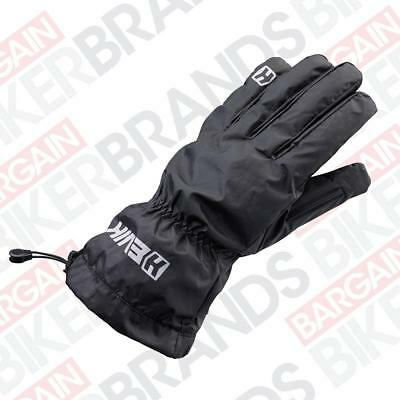 Hevik HCW100 Waterproof and Windproof Motorcycle Over Gloves - Black