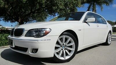 2007 BMW 7-Series 4Dr 2007 BMW 750 LI IN OUTSTANDING CONDITION, STUNNING & FULLY LOADED FL CAR, WOW!!!