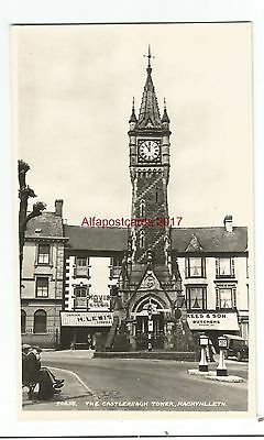Wales Machynlleth The Castlereagh Tower Real Photo Vintage Postcard 24.02