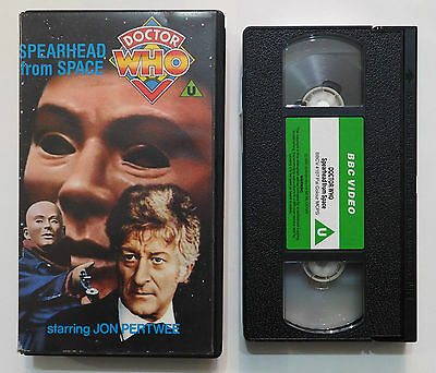 Doctor Who - Spearhead from Space (VHS)