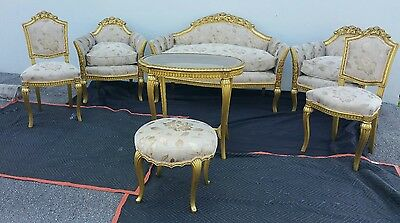 art deco french paul follot living room set