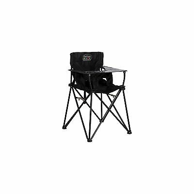 CIAO! Baby High Chair Black Folding Portable Toddler Camping Travel NEW