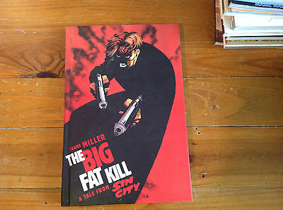 Frank Miller Sin City 'the Big Fat Kill' Rare 1St Print Hardcover 1995.